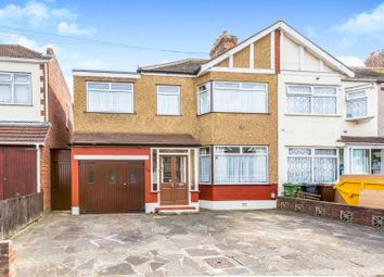 Thumbnail 4 bed semi-detached house for sale in Geneva Gardens, Romford