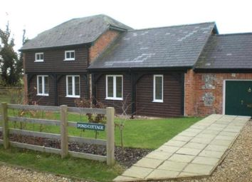 Thumbnail 3 bed cottage to rent in Willesley Warren, Overton, Hampshire