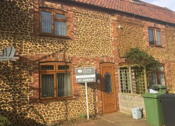 Thumbnail 2 bedroom terraced house to rent in Malthouse Crescent, Heacham, King's Lynn