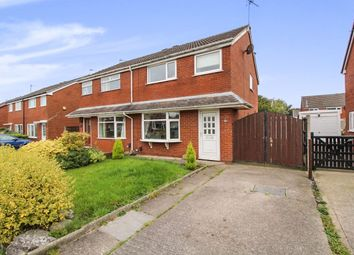 Thumbnail 3 bed semi-detached house for sale in Riverside Avenue, Farington Moss, Leyland