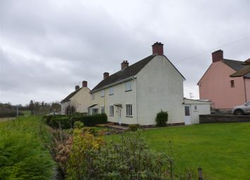 Thumbnail 3 bed semi-detached house for sale in Eastgate Crescent, Caerwent, Caldicot