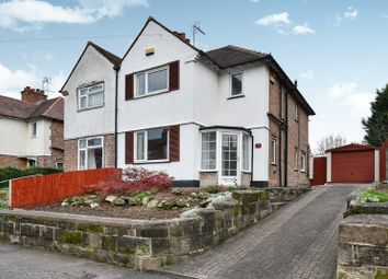Thumbnail 3 bedroom semi-detached house for sale in Derby Lane, Derby, Derbyshire