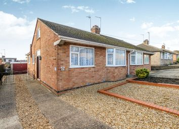 Thumbnail 2 bedroom semi-detached bungalow for sale in Knightlands Road, Irthlingborough, Wellingborough