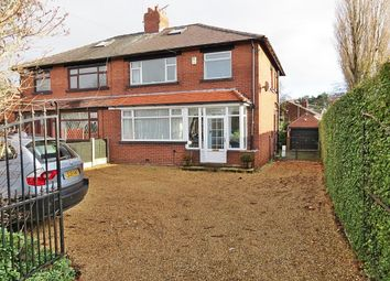 Thumbnail 3 bedroom semi-detached house for sale in King Lane, Moortown, Leeds
