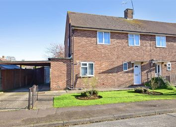Thumbnail 3 bed semi-detached house for sale in Townsend Crescent, Littlehampton, West Sussex