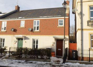 Thumbnail 3 bedroom end terrace house for sale in Britten Road, Swindon