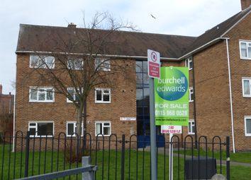 Thumbnail 2 bedroom flat for sale in Goodall Crescent, Hucknall, Nottingham