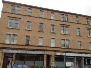 Thumbnail 2 bed flat to rent in St. Georges Road, Glasgow