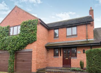 Thumbnail 4 bedroom detached house for sale in Mowsley Road, Husbands Bosworth, Lutterworth