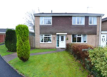 Thumbnail 3 bed semi-detached house for sale in Aldersleigh Drive, Wildwood, Stafford