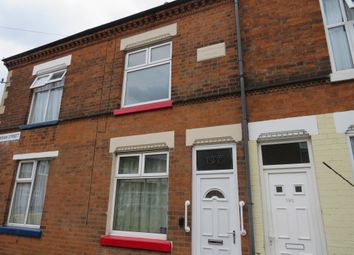 Thumbnail 2 bed terraced house for sale in Sheridan Street, Knighton Fields, Leicester