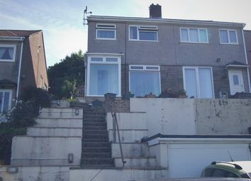 Thumbnail 3 bed semi-detached house for sale in Wells Close, Baglan, Port Talbot