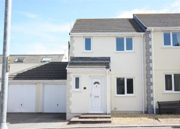 Thumbnail 3 bed semi-detached house to rent in Chegwin Gardens, Newquay