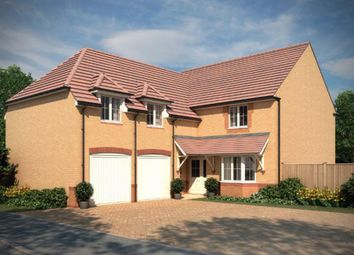 "Thumbnail 4 bed detached house for sale in ""Rothbury"" at St. Johns View, St. Athan, Barry"