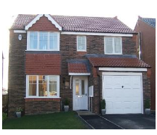 Thumbnail 4 bed detached house to rent in Bowood Close, Ryhope, Sunderland