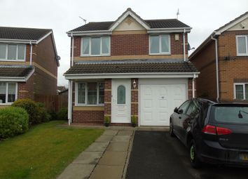 Thumbnail 3 bed detached house for sale in Larchwood Drive, Ashington
