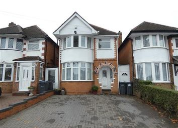 Thumbnail 3 bed detached house for sale in Benedon Road, Sheldon, Birmingham