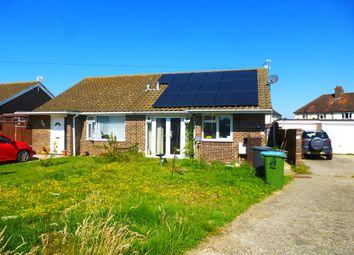 Thumbnail 2 bed semi-detached bungalow for sale in Stonehill Crescent, Bognor Regis