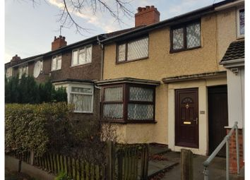 Thumbnail 4 bed terraced house for sale in Brookhill Road, Birmingham
