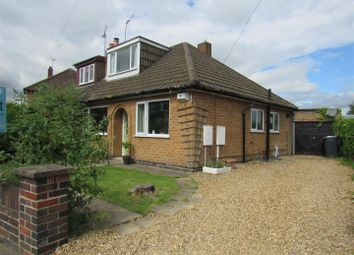 Thumbnail 2 bed semi-detached bungalow for sale in The Ringway, Queniborough, Leicester