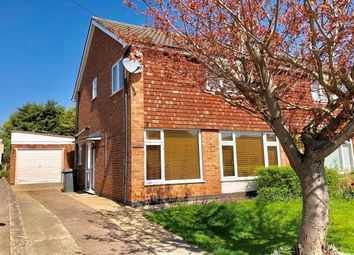 Thumbnail 3 bed semi-detached house to rent in Ramsbury Road, Leicester
