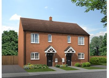 Thumbnail 2 bed semi-detached house for sale in 31 And 33, Maple Close, Braunston, Northamptoshire