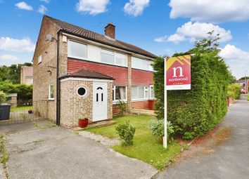 Thumbnail 3 bedroom semi-detached house for sale in Birkdale Drive, Alwoodley, Leeds