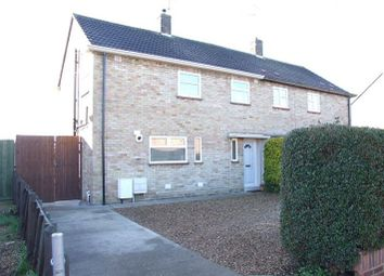 Thumbnail 3 bed semi-detached house to rent in Dover Road, Walton, Peterborough