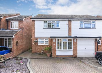 Thumbnail 3 bed semi-detached house for sale in Navarre Gardens, Collier Row, Romford