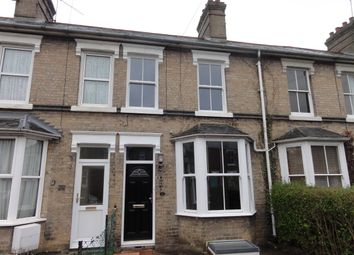 Thumbnail 3 bed terraced house to rent in Queens Road, Bury St. Edmunds