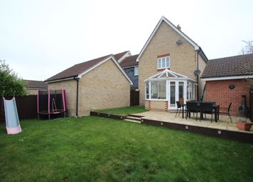 Thumbnail 3 bed link-detached house for sale in Lark Close, Stowmarket