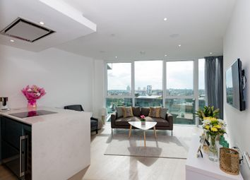 Thumbnail 2 bed flat for sale in The Pinnacle, Battersea Reach