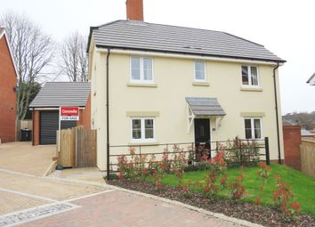 Thumbnail 3 bed detached house for sale in Sharp Close, Blandford Forum