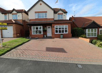 Thumbnail 4 bed detached house for sale in Briardene Way, Easington Colliery, Peterlee