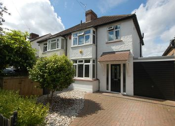 Thumbnail 3 bed semi-detached house for sale in Falcon Road, Hampton