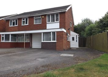 Thumbnail 3 bedroom semi-detached house for sale in Park Road, Willenhall, West Midlands