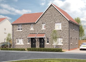 Thumbnail 3 bed semi-detached house for sale in West Road, Lympsham