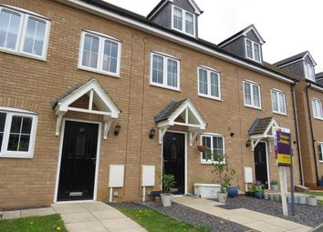 Thumbnail 3 bed town house for sale in Easton Lane, Bozeat, Wellingborough
