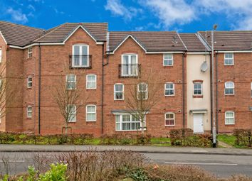 Thumbnail 2 bed flat for sale in Lupin Drive, Huntington, Cannock