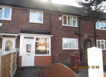 Thumbnail 3 bed terraced house to rent in Clough Top Road, Blackley, Manchester