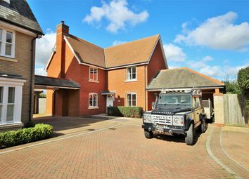 Thumbnail 4 bed detached house for sale in Walnut Drive, Mile End, Colchester, Essex