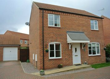 Thumbnail 3 bed detached house to rent in Teasel Drive, Bourne, Lincolnshire