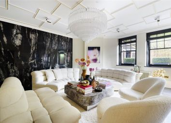 Thumbnail 4 bed flat for sale in Oakwood Court, Holland Park, London