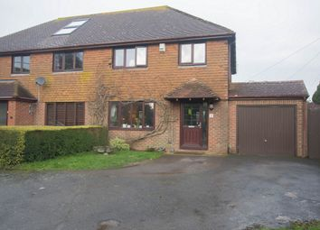 Thumbnail 3 bedroom semi-detached house for sale in The Street, West Hougham