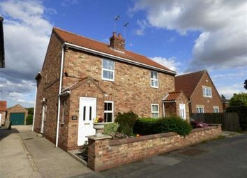 Thumbnail 2 bed semi-detached house to rent in Canal Side East, Newport, Brough