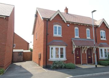Thumbnail 3 bed semi-detached house for sale in Gloster Road, Lutterworth