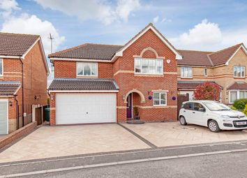 Thumbnail 5 bed detached house for sale in Pearson Croft, Chesterfield