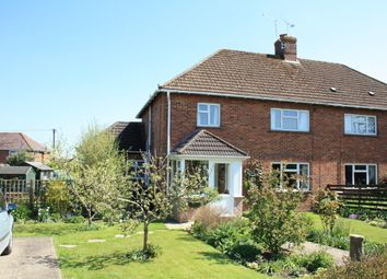 Thumbnail 4 bed semi-detached house for sale in Castle Avenue, Okeford Fitzpaine, Blandford Forum