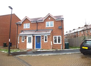 Thumbnail 2 bed semi-detached house for sale in Alnmouth Court, Cowgate, Newcastle Upon Tyne