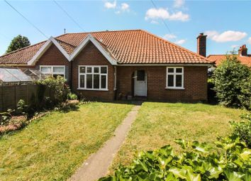 Thumbnail 3 bed semi-detached bungalow for sale in Brian Avenue, Norwich